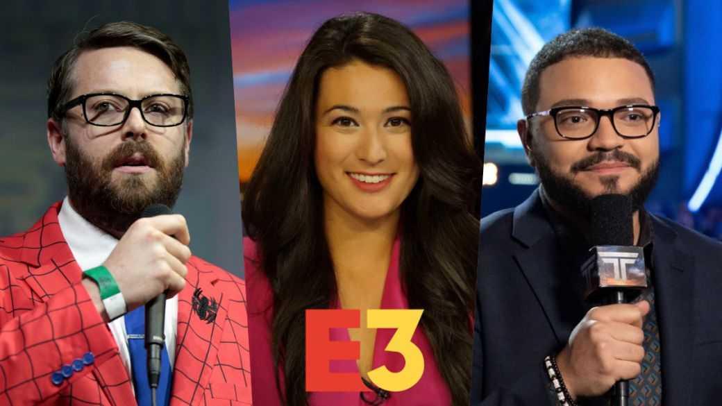Qui sont les présentateurs de l'E3 2021 ?  Greg Miller, Jacki Jing et Alex Mendez