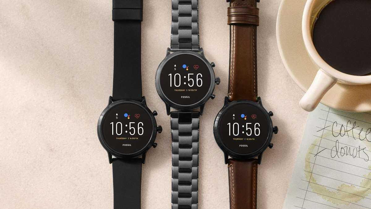 smartwatch Fossil Wear OS Google atualização