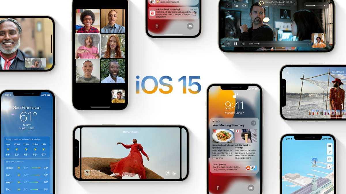 iOS 15 iPadOS 15 iPhone iPad Apple
