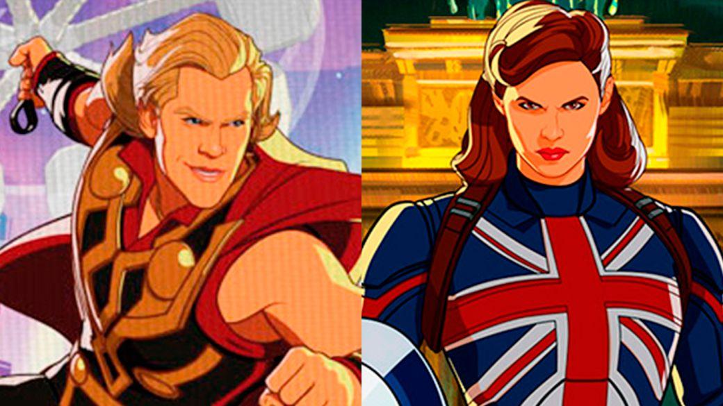 Et si...?: Voici à quoi ressemblent les nouvelles versions de Party Thor, Star Lord, Captain Britain et bien d'autres