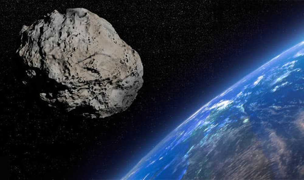 Imagem asteroide a caminho da Terra segundo a NASA