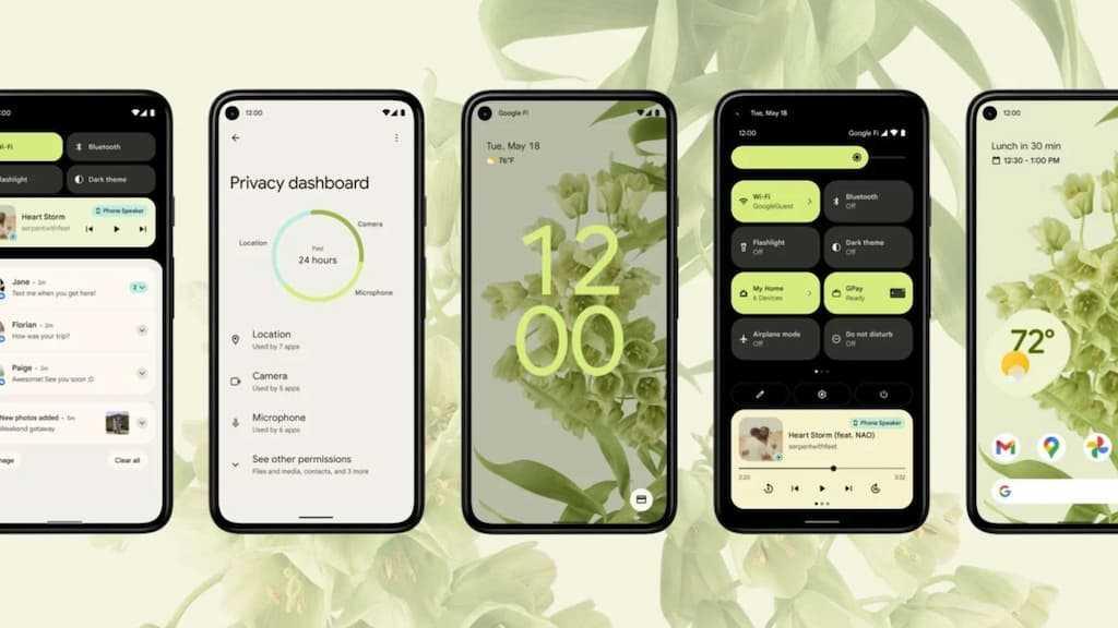 Chegou o Android 12 beta 2 com funcionalidade inspiradas no iOS