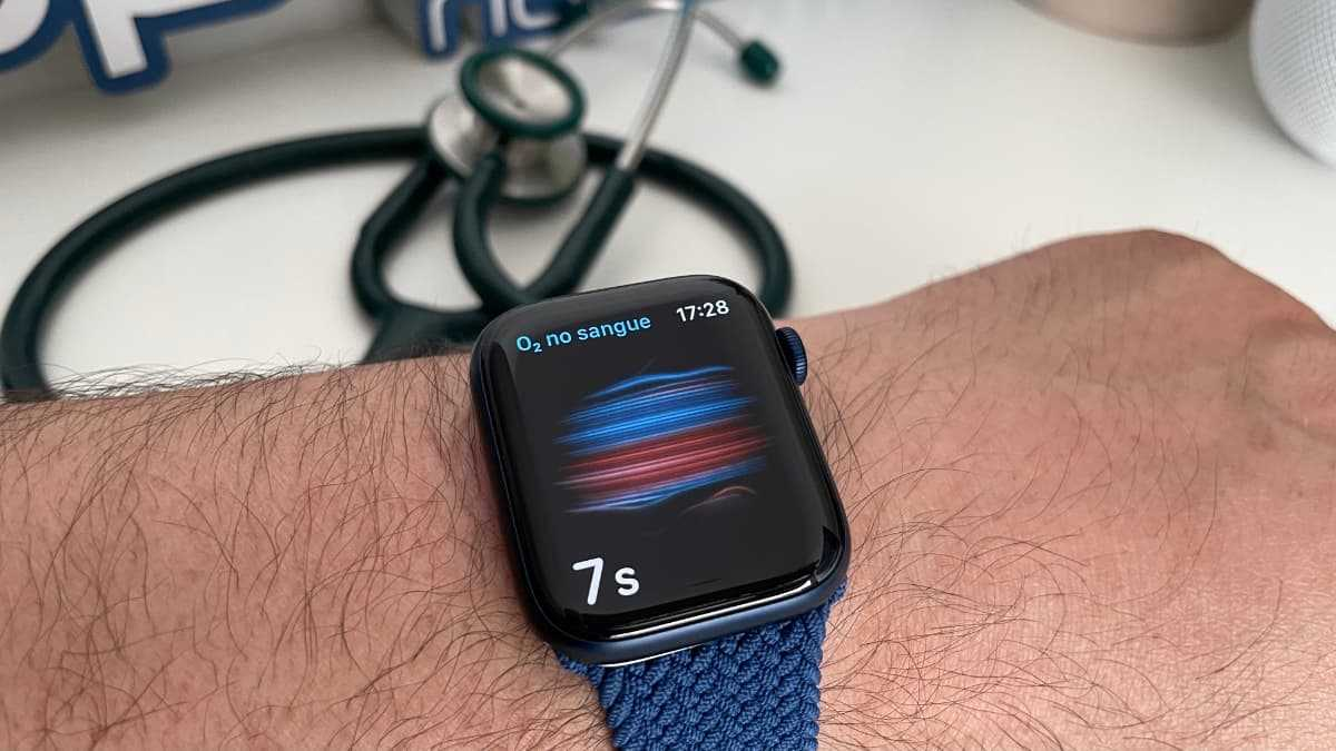 Imagem Apple Watch em estudo de deteção COVID-19
