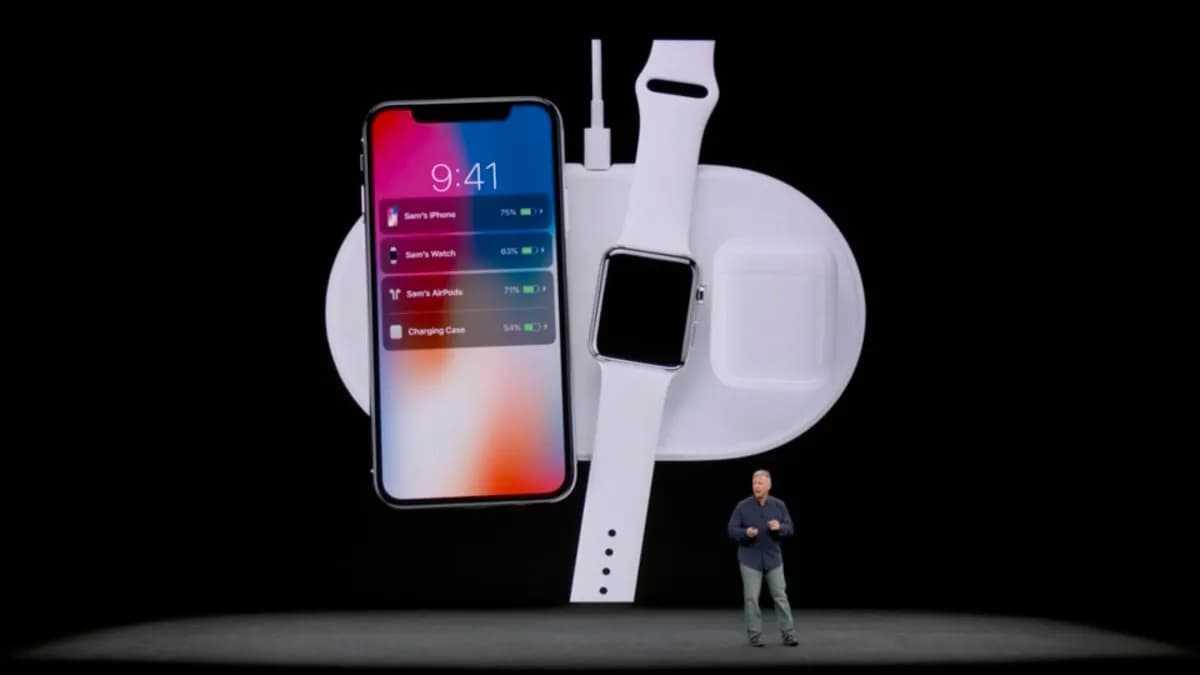 Apresentação do AirPower pela Apple
