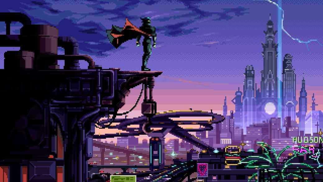 Voici Captain Laserhawk: A Blood Dragon Remix, une nouvelle série Netflix et Ubisoft