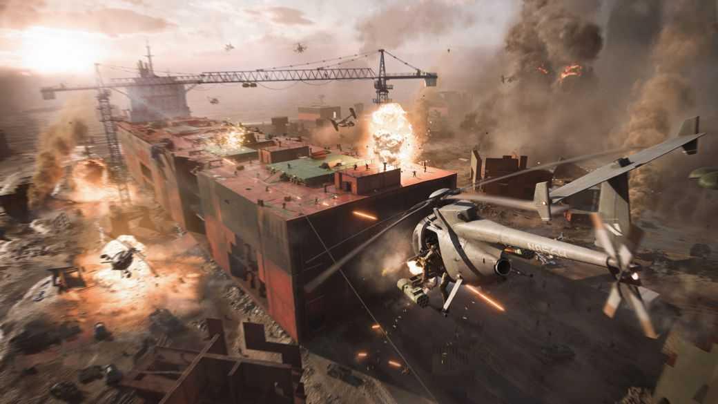 Battlefield 2042 réduira la taille de ses cartes et plus encore sur PS4 et Xbox One
