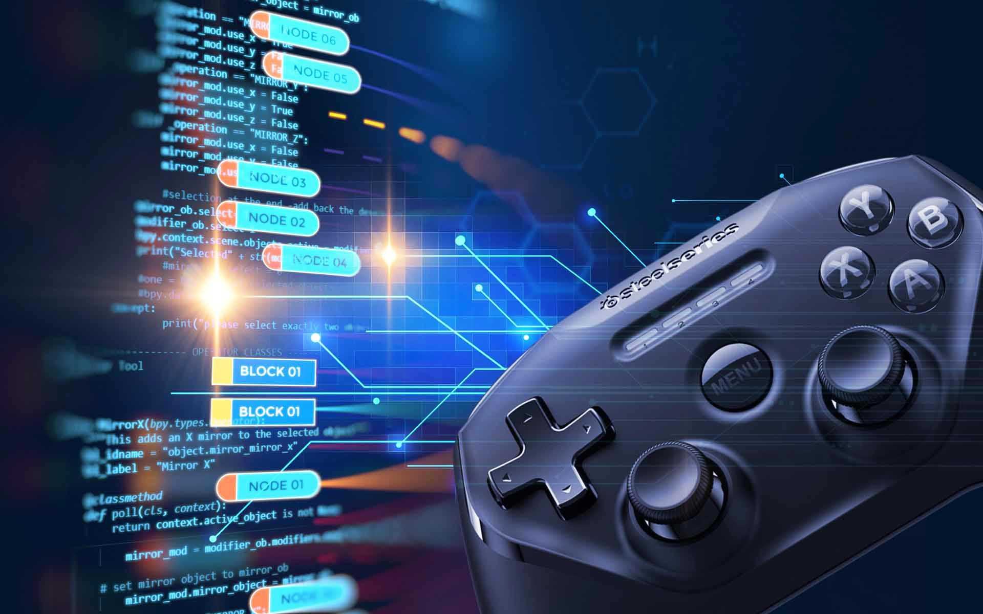 Blockchain Gaming Jeu Controller Manette