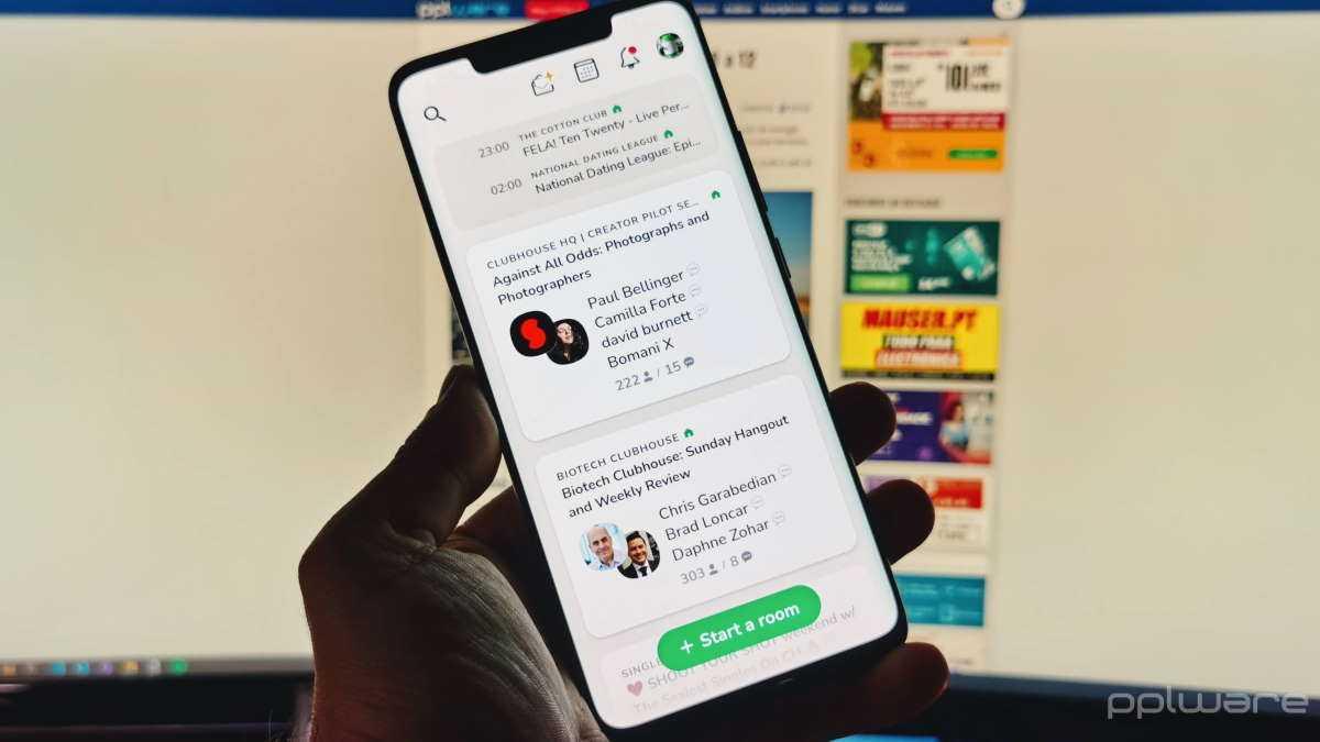 Clubhouse Android novidades números
