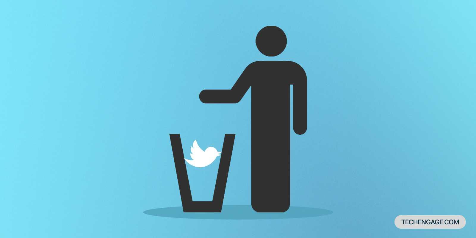 Twitter désactiver le compte