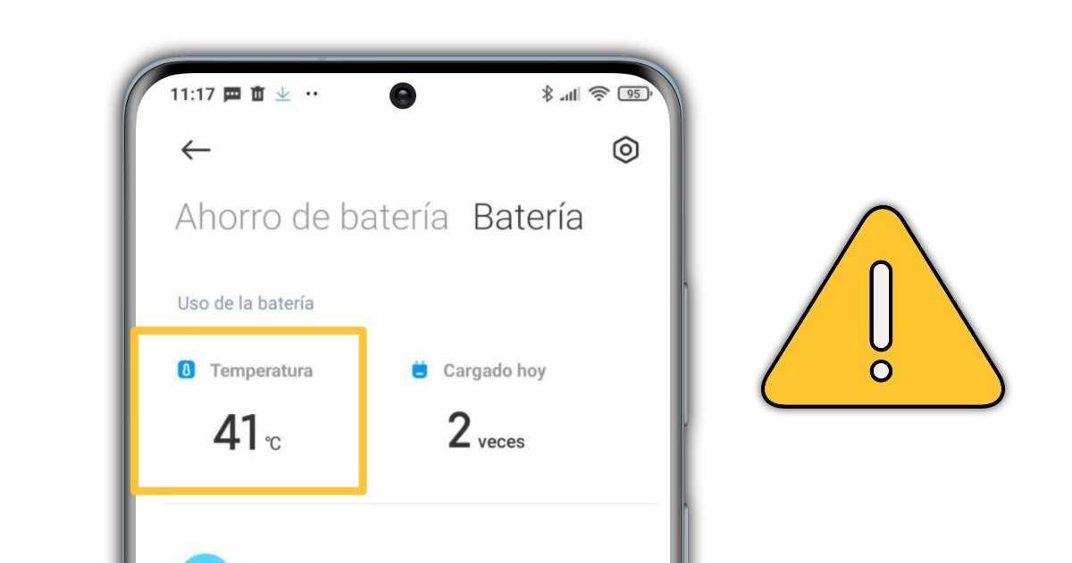 Connaître la température de la batterie mobile Xiaomi