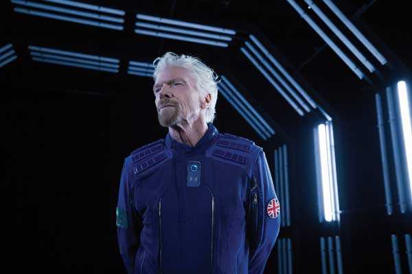 Le propriétaire de Virgin Galactic pourrait aller dans l'espace avant Jeff Bezos