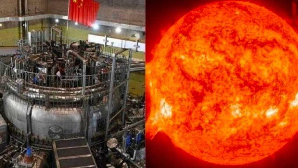 Imagem Sol chinês artificial