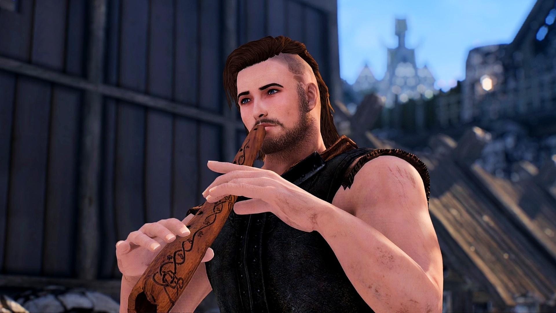 Este mod de Skyrim's Got Talent se trata de convertirte en el mejor bardo que puedas ser