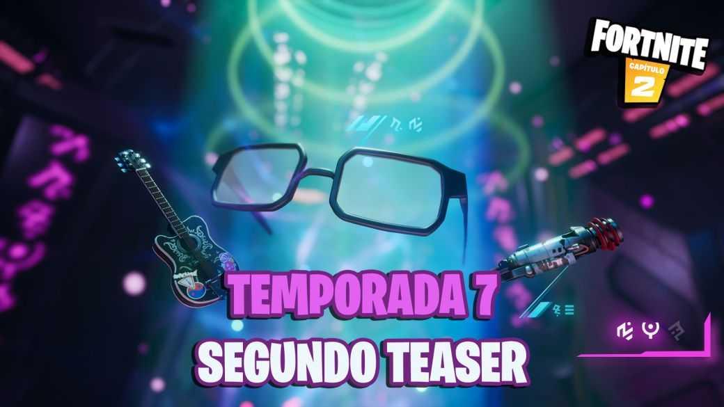 Fortnite Saison 7 : le deuxième teaser montre une guitare électrique, des lunettes et un nouveau fusil de chasse
