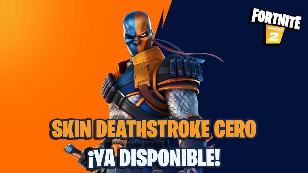 Fortnite : skin Deathstroke Zero maintenant disponible ;  prix et contenu