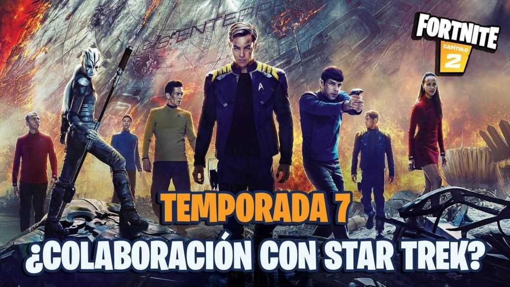 Fortnite Saison 7 : Des indices suggèrent une collaboration avec Star Trek