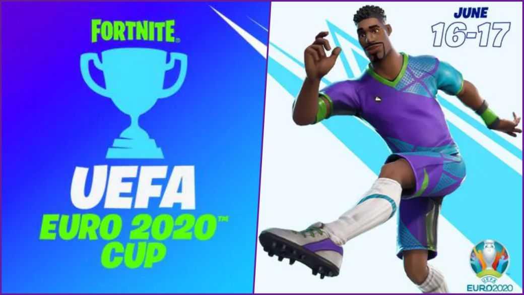 Fortnite x UEFA Euro 2020 : Date du nouveau tournoi avec des récompenses uniques