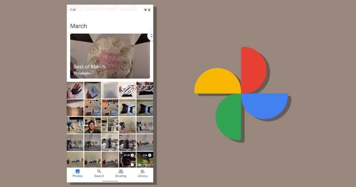 """Google Photos teste déjà sa nouvelle interface basée sur """"Material You"""""""