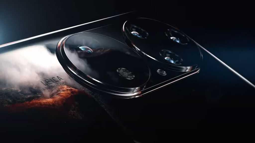 Huawei revela P50 com dois módulos fotográficos na traseira