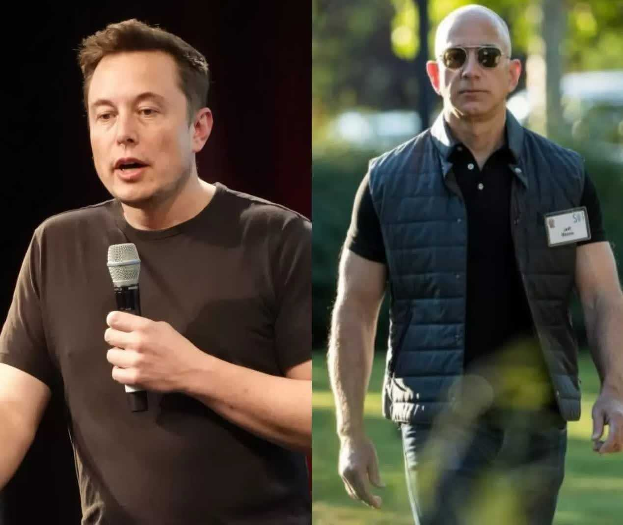 Report shows how billionaires including Jeff Bezos and Elon Musk pay little to no taxes