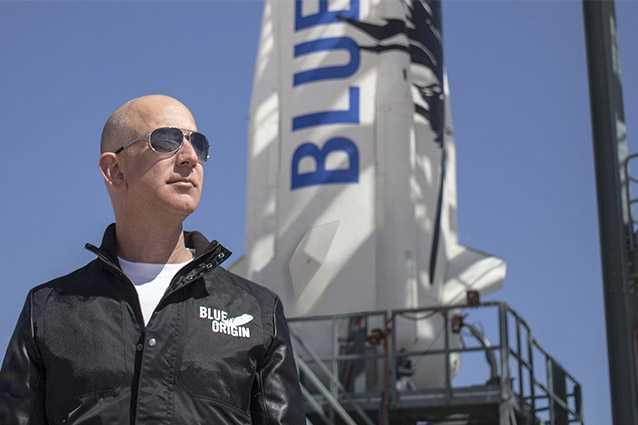 Jeff Bezos partira dans l'espace avec sa Blue Origin : c'est alors