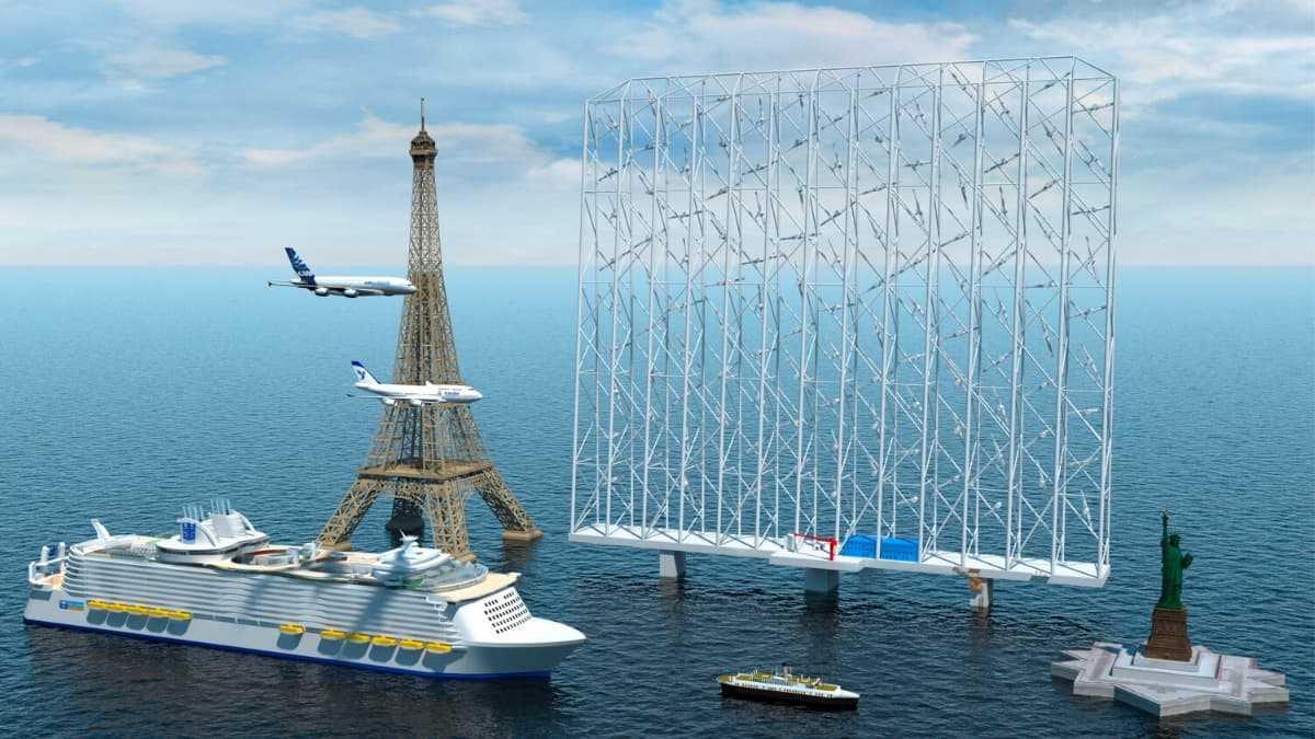Des «réseaux éoliens» géants peuvent produire de l'énergie pour 80 000 foyers