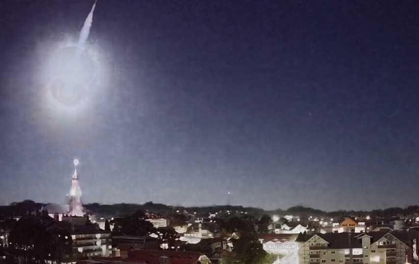 Meteor transforme la nuit en jour pendant un certain temps à Rio Grande do Sul