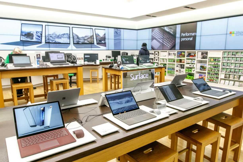 Microsoft se remet tranquillement dans la vente au détail