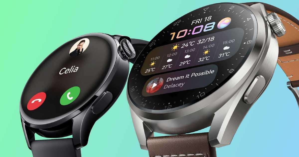 Nouveaux Huawei Watch3 et Watch3 Pro : HarmonyOS, batterie 3 jours et écran AMOLED
