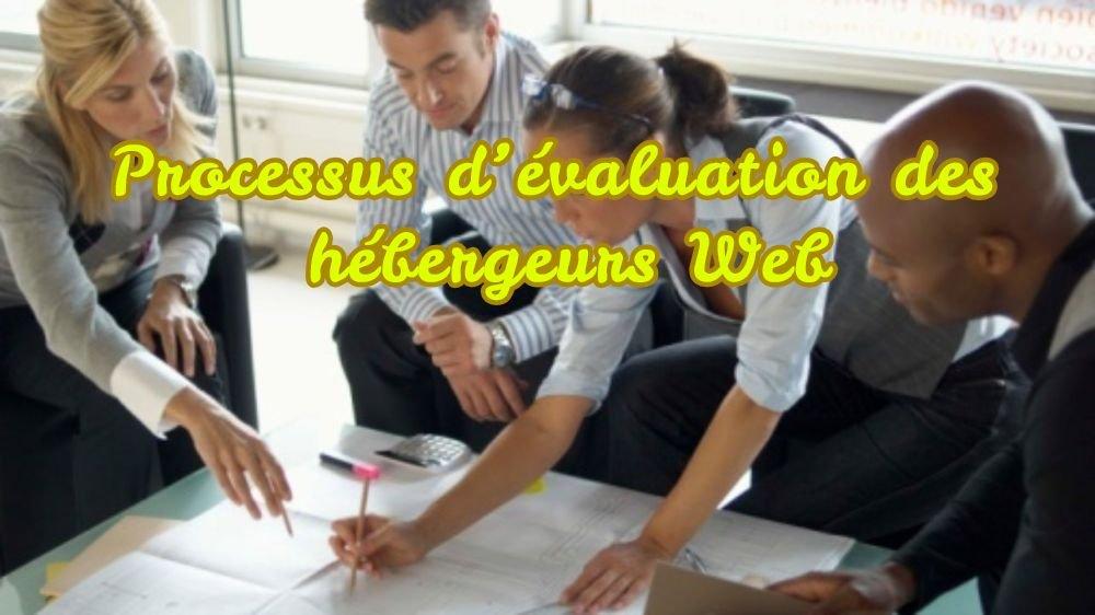 Proceso de evaluación de alojamiento web