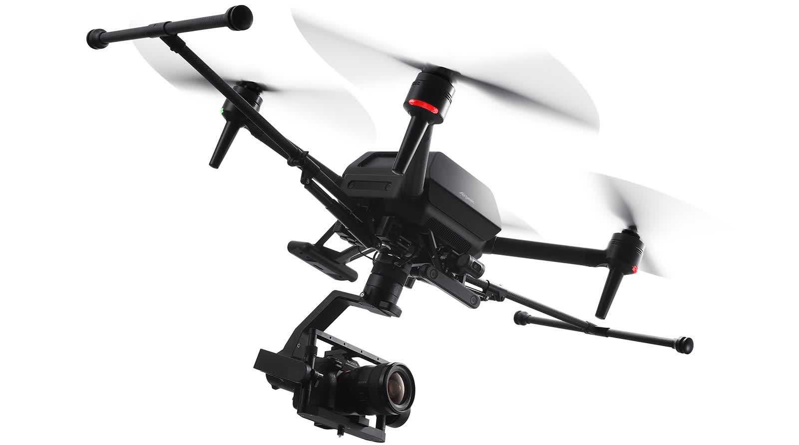 Sony formally announces the Airpeak S1, a pro-grade drone with a $9,000 price tag