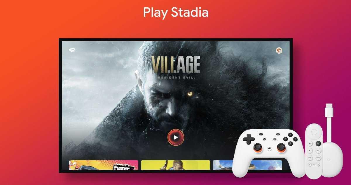 Stadia arrive sur Android TV et Google Chromecast avec Google TV le 23 juin