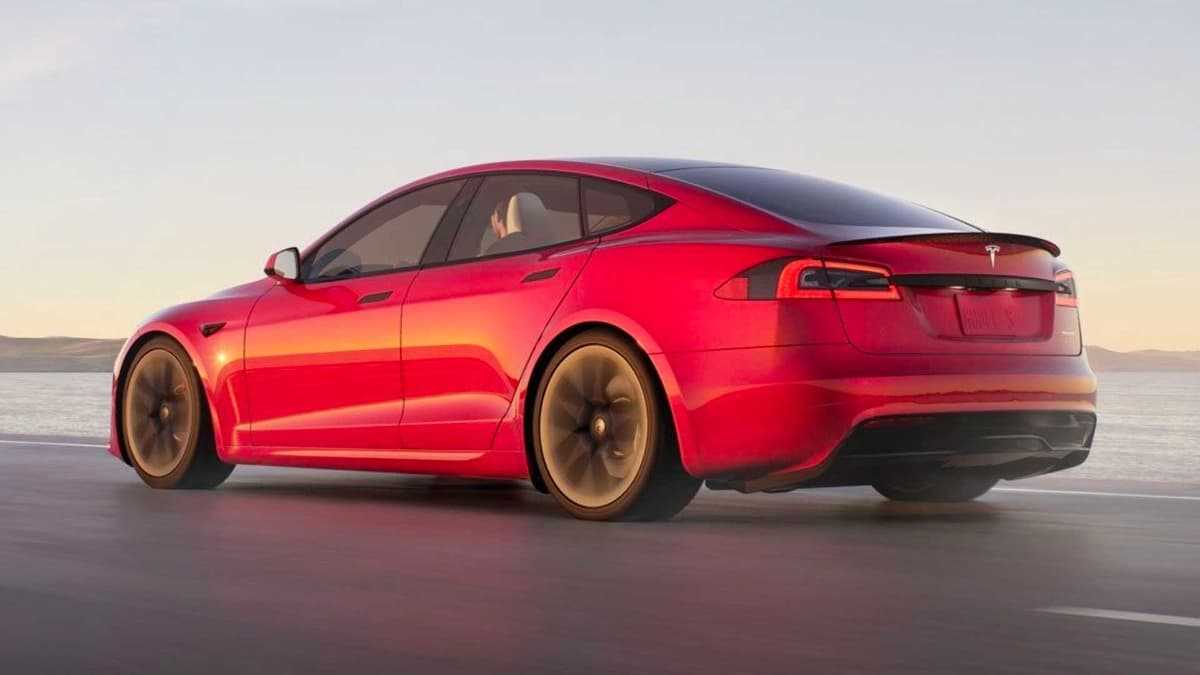 Tesla Model S Plaid couvre 400 m en seulement 9 247 secondes