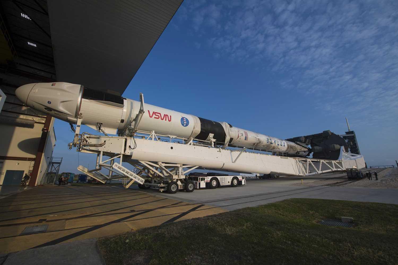 Une fusée pourrait vous livrer vos prochains achats en ligne