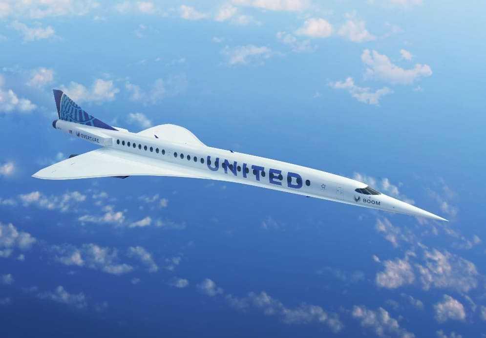 United Airlines conclut un accord pour revenir avec des vols supersoniques