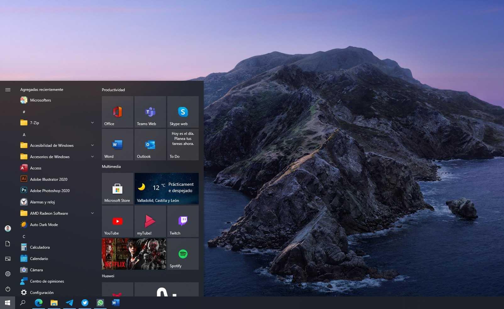 """Windows 10 reçoit la mise à jour KB5003637 avec """"News and Interests"""" pour tout le monde"""