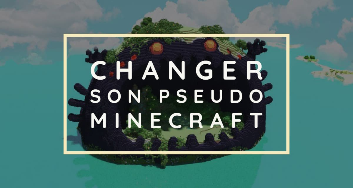 Changer son pseudo dans Minecraft