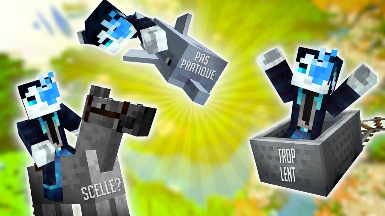 ¿Minecraft necesita una actualización del sistema de transporte?  • Minecraft.fr