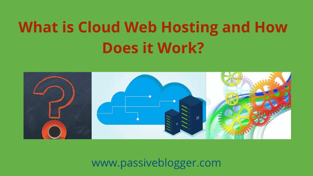 ¿Qué es el alojamiento web en la nube y cómo funciona?