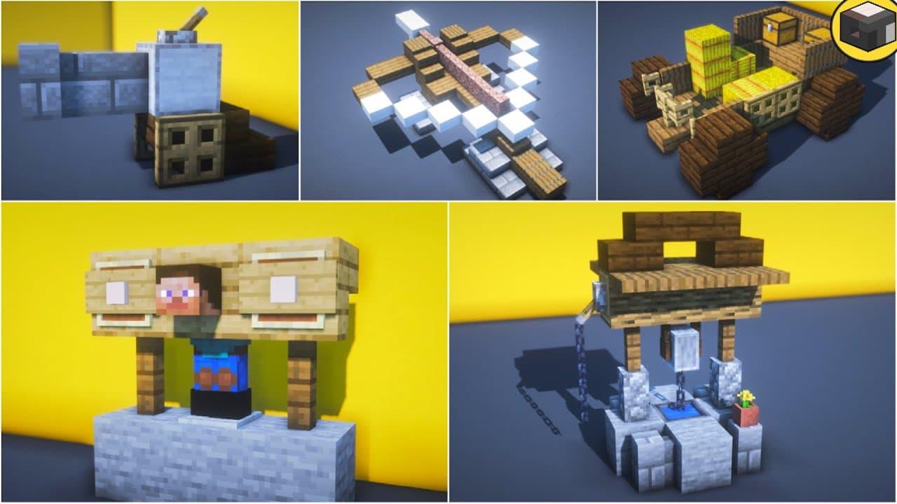 15 consejos de construcción / construcción medieval en Minecraft • Minecraft.fr