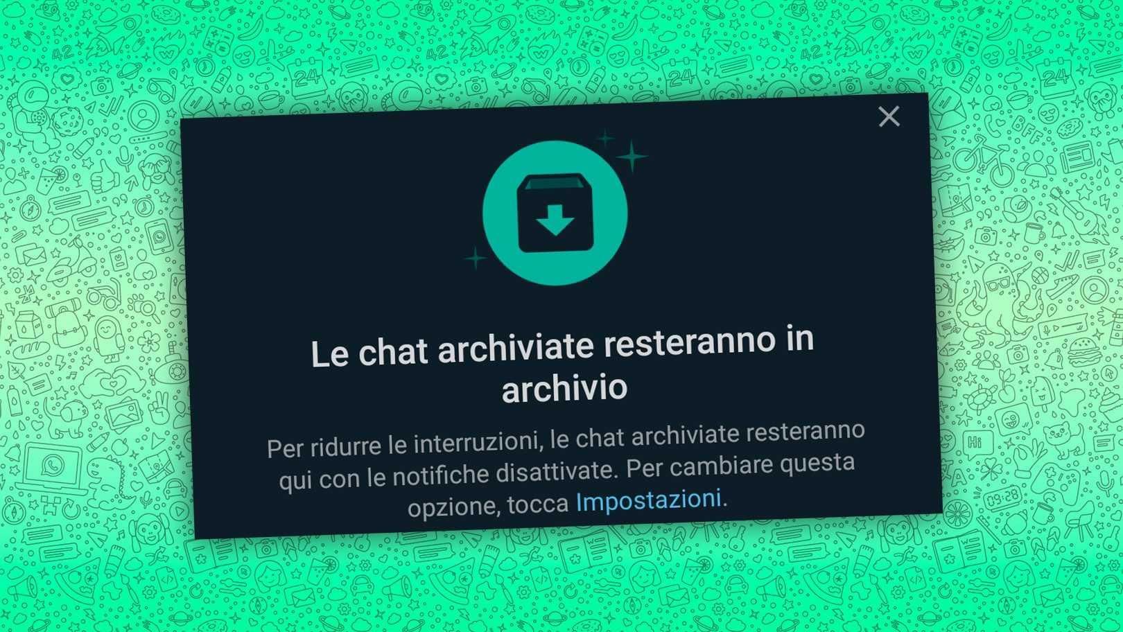 Maintenant, sur WhatsApp, vous pouvez ignorer les conversations pour toujours sans vous faire prendre