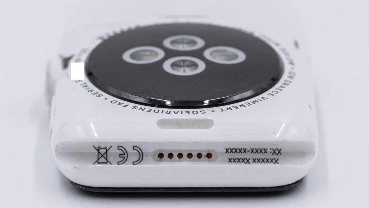 Imagem protótipo Apple Watch Original em cerâmica