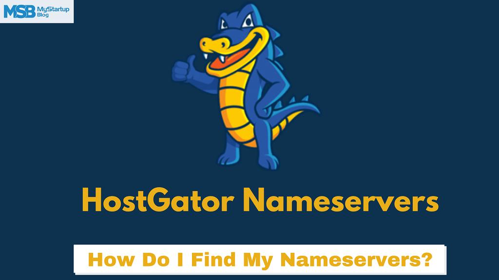 Cómo encontrar los detalles de los servidores de nombres (NS) de Hostgator en 2 minutos