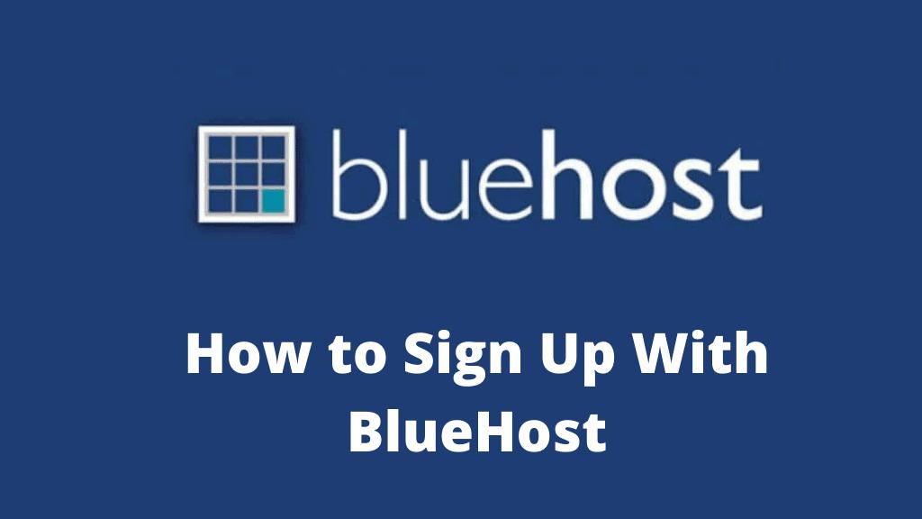 Cómo registrarse con BlueHost en 2021 (cupón de 65% de descuento)