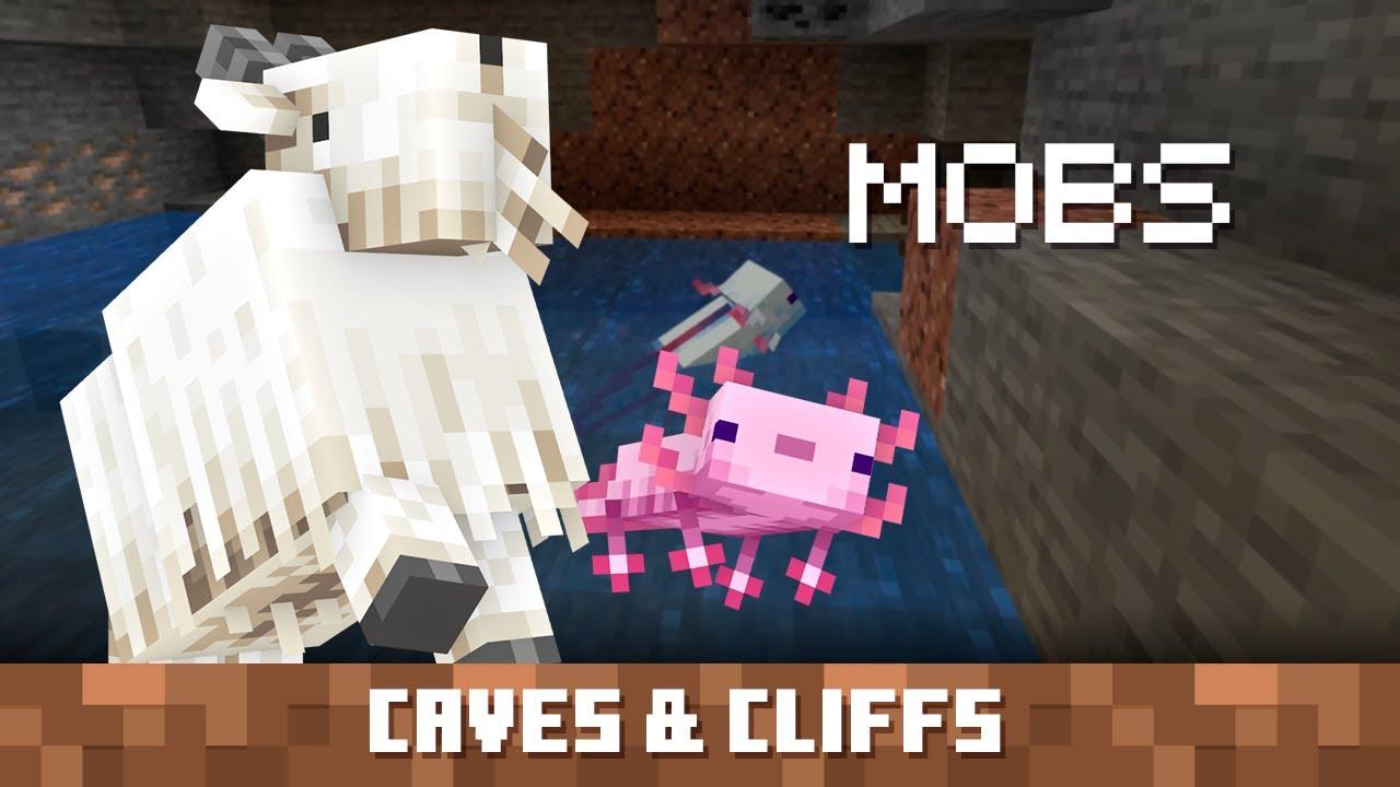 Criaturas de Minecraft 1.17 Parte 1