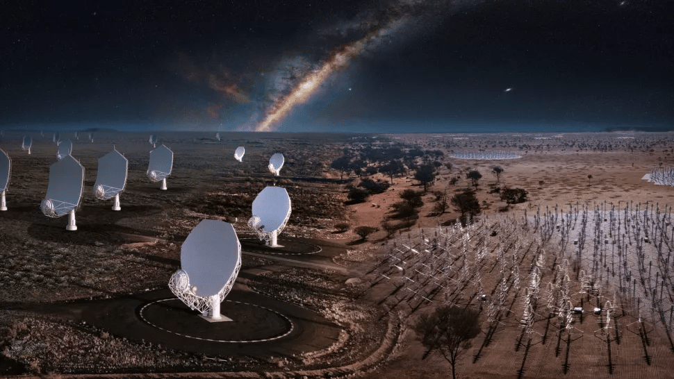 Après 30 ans, la construction du plus grand radiotélescope du monde commence