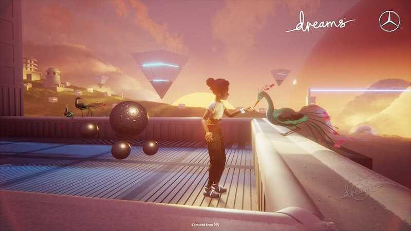 « Dreams and Mercedes », partenariat annoncé entre Media Molecule et Mercedes-Benz