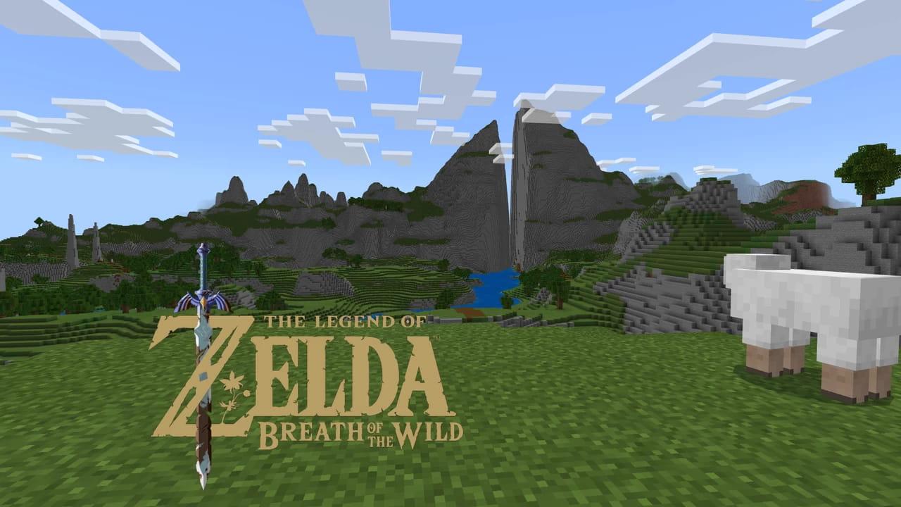 El mapa de Zelda Breath Of The Wild (Hyrule) en Minecraft • Minecraft.fr