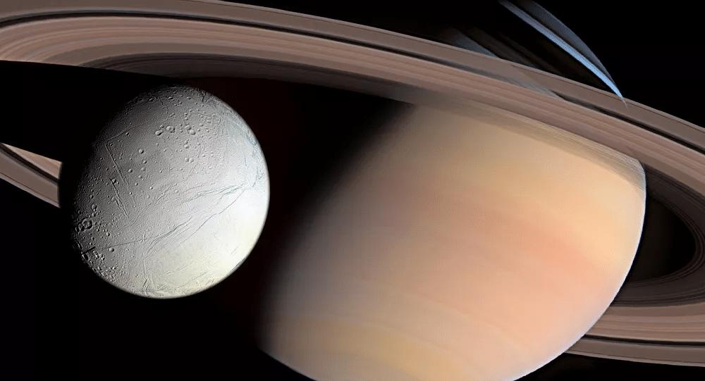 Le Méthane Identifié Sur La Lune De Saturne Pourrait Indiquer