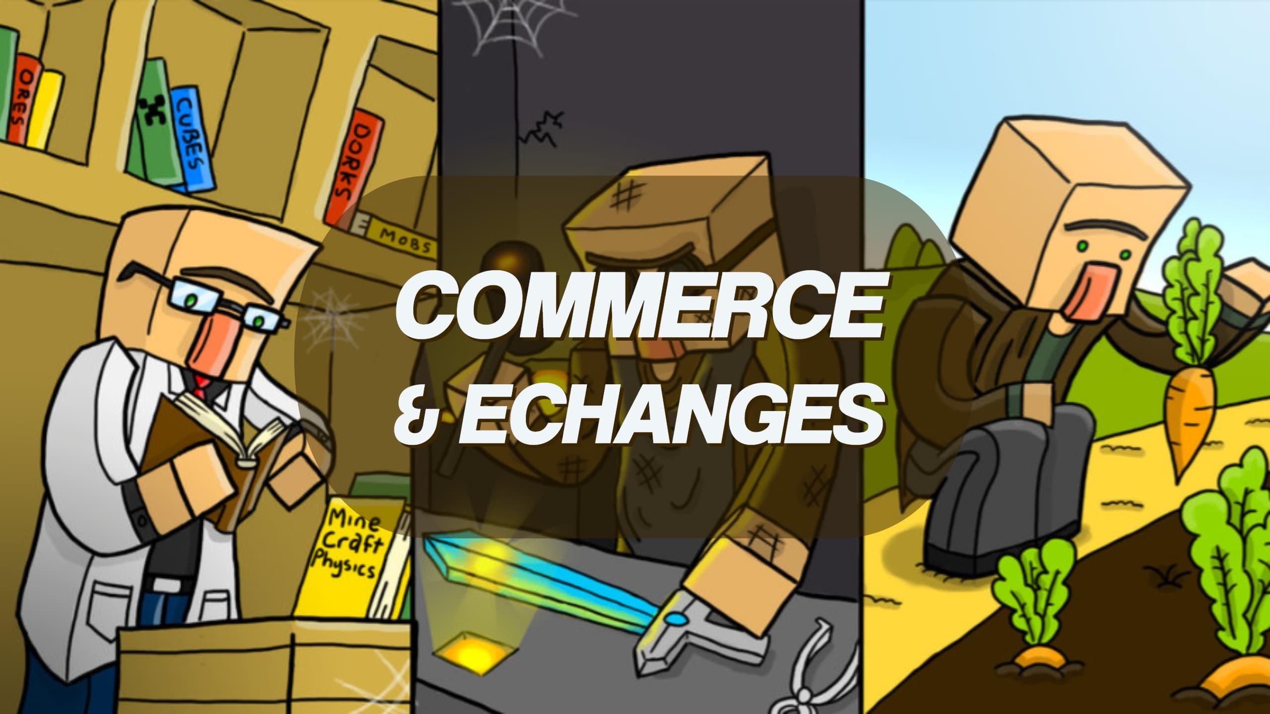 Guía de Minecraft Villager: Profesiones, Comercio ... 🤝 Minecraft.fr